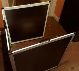 Shower screen: half height & foldable