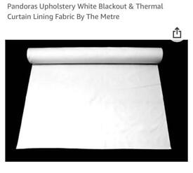 Blackout & Thermal Curtain Lining Fabric (10-15 meters)