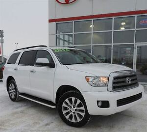 2014 Toyota Sequoia Limited with TECHNOLOGY!!!!