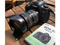 Canon DSLR camera:- EOS 5D mark III with canon zoom lens EF 24-105mm