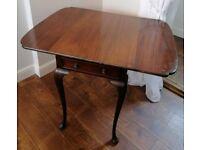 Mahogany Dropleaf Pembroke Table