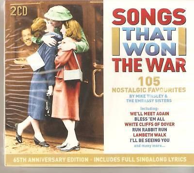 SONGS THAT WON THE WAR 2 CD BOX SET 105 FAVOURITES
