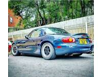 XXR alloy wheels 4x100 MX5 Mazda Honda Civic