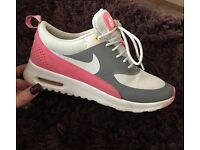 Size 4, Ladies / Junior, Nike Trainers in Pink and Grey