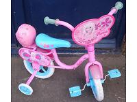 "12"" Barbie Bike with Bubble Machine & Stablizers"