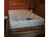 King Size Double Divan Bed With Storage Drawers Below