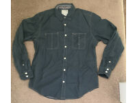 Men's Denim look Shirt - Medium