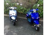2 x aprillia spares or repairs