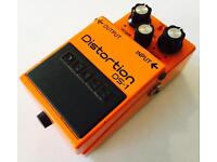 Boss DS1 distortion effects pedal