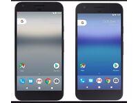 PIXEL GOOGLE XL 128 Gb, Black mobile phone