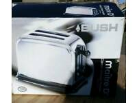 Brand New still in Box BUSH 2 Slice Toaster