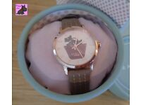 Radley RY2346 Border Rose Gold / Marsupial Strap NEW RRP £80