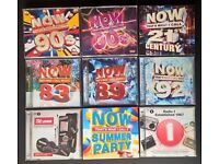 NOW CD Collection + Free Radio 1 CD's