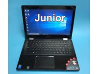 Lenovo 1TB, 4GB, TouchScreen Laptop or Tablet, Slim, Win 10, office, Excellent Condition, Portable