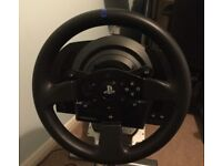 THRUSTMASTER T300 RS FOR PS3 PS4 PC EXCELLENT COND BETTER THAN LOGITECH G29 AND GREAT FOR GT SPORT