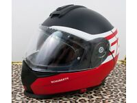 Schuberth S2 Sport Full Face Motorcycle Motorbike Helmet - Rush Red- XL