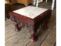 Small Marble Topped Table