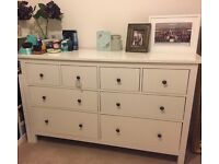 IKEA Hemnes Chest of Drawers - White
