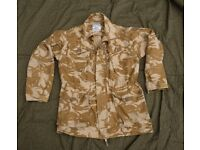 British Army Issue Desert Ripstop CS95 Field Jacket - LARGE 180/104 - Walsh