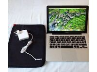 "MacBook Pro 13""3inch 500GB APPLE HDD 2.4 GHz Intel Core i5 Intel HD Graphics 3000 384 MB Sierra"