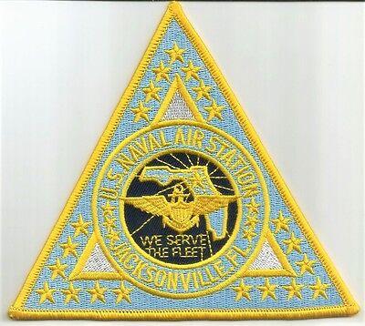 US Naval Air Station Jacksonville, Florida - NAS FL - Military Patch WE SERVE