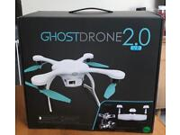 Ghost Drone 2.0 VR. 4K Camera and includes real time VR Goggles. Never used.