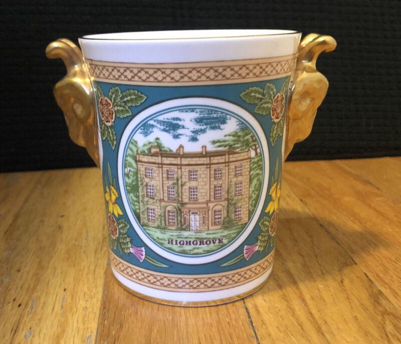 Prince William of Wales 1982 Birth Coalport Rams Head Beaker