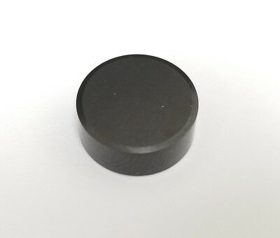 38 Round Rng Solid Cbn Button Insert .375 Dia