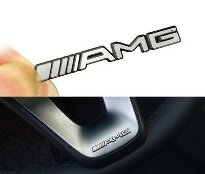 5x Mercedes AMG Sticker Aufkleber Emblem Logo Schriftzug A,B,C,E,S,CL,SL,GL,CLS