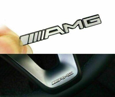 4x Mercedes AMG Sticker Aufkleber Emblem Logo Schriftzug A,B,C,E,S,CL,SL,GL,CLS.