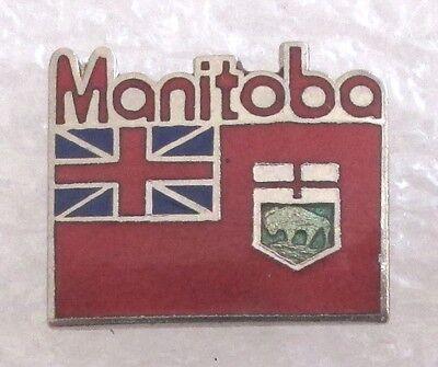 Manitoba, Canada Travel Souvenir Collector Pin