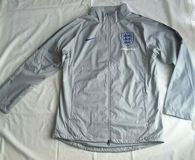 Nike England Training Squad Jacket 2019 Grey Mans NEW Size M