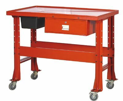 12 Ton Transmission Tear Down Table 1000 Lb Mechanic Work Bench Table Cart