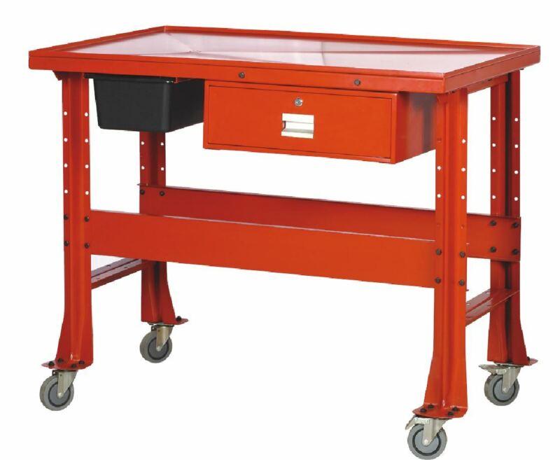 1/2 Ton Transmission Tear Down Table 1000 LB Mechanic Work Bench Table Cart