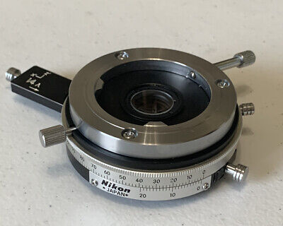 Nikon Intermediate Tube P With 14 Lamda And Tint Plate For Pol Microscopes