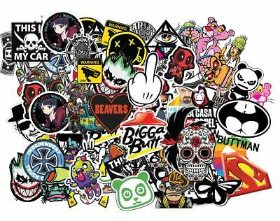 x25 Random stickers cool sticker bomb laptop skate car vinyl