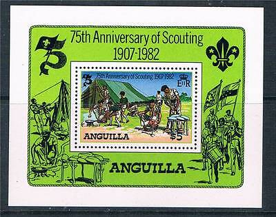 Anguilla 1982 75th Anniv.of Scouting MS SG519 MNH