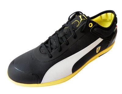 Puma Men's Driving Power Light Low Sf Ferrari Shoe Size US 9.5 M Black/White/Tea