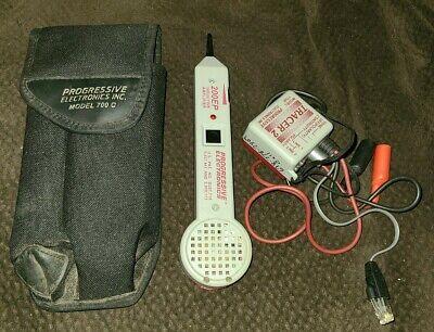 Progressive Electronics 200ep Inductive Amplifier Wtracer 2 Model 77hp Case