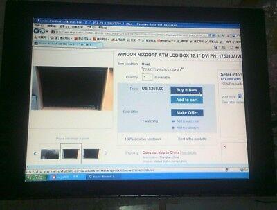 """WINCOR NIXDORF ATM LCD BOX 12.1"""" DVI PN: 1750107720"""