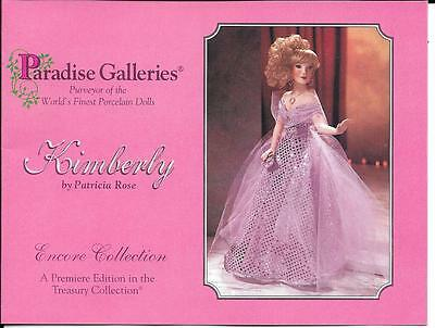 "Paradise Galleries - Kimberly - 15"" New in Box"