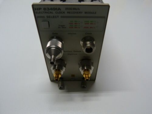 HP/Agilent 83491A Electrical Clock 2500 Mb/s Recovery Module