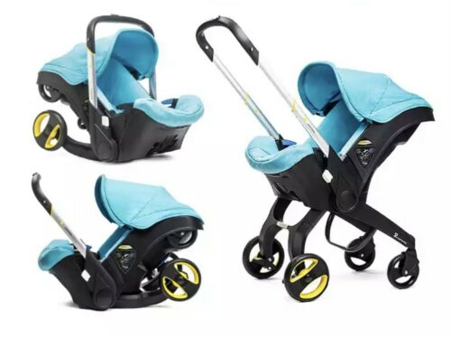 4 in1 BABY STROLLER with car seat FOLDING infant NEWBORN light weight carriage