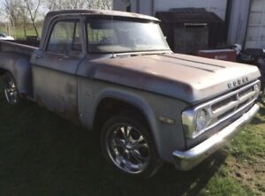 Parts wanted for 71 dodge d100