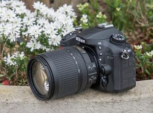 Nikon D7200 with 18-200mm lens