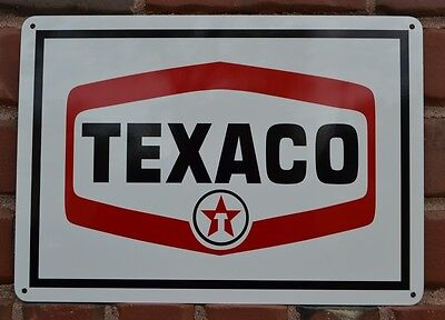Texaco Gas Station Pump SIGn Service Mechanic Garage Collectable Free Shipping