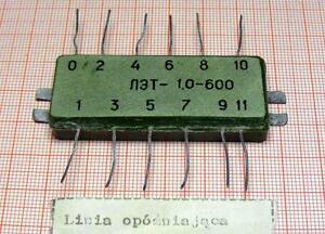 Analog delay line LET-1,0-600 [M3] - Wroclaw, Polska - Analog delay line LET-1,0-600 [M3] - Wroclaw, Polska