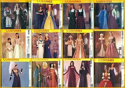 Elizabethan Costume (OOP McCalls Sewing Pattern Renaissance Costume Medieval Elizabethan + You)
