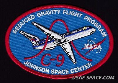 NASA C-9 REDUCED GRAVITY FLIGHT PROGRAM - JOHNSON SPACE CENTER - ORIGINAL PATCH