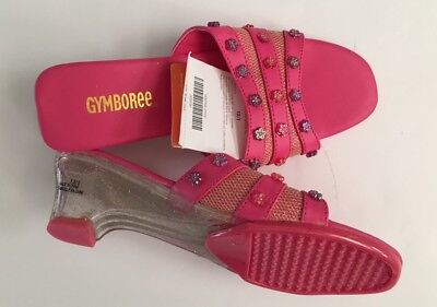 NWT Gymboree Halloween Sz 13/1 Pink Fairy Princess Costume Shoes for age 7-8 (Fairy Costume For Teens)